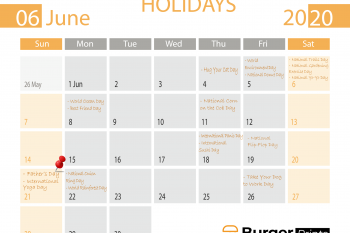 June 2020 holidays you won't want to miss