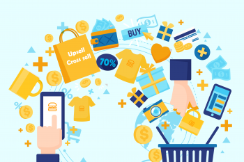 Upsell and cross sell tips to increase revenue on BurgerPrints platform