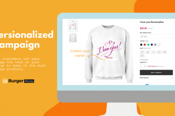 New feature Personalized Campaigns for 2D printed products