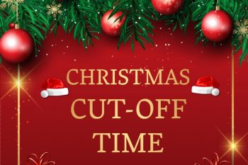 Christmas 2020 shipping cut off time