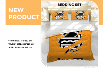 NEW PRODUCTS: BEDDING SET