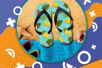 (Tiếng Việt) Flip flops – Dép tông đi biển đẹp mê ly