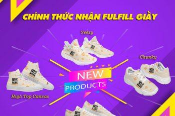 (Tiếng Việt) Chạm đích triệu sale với fulfill giày cùng BurgerPrints