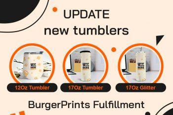 (Tiếng Việt) BugerPrints bổ sung thêm một số mẫu Tumbler